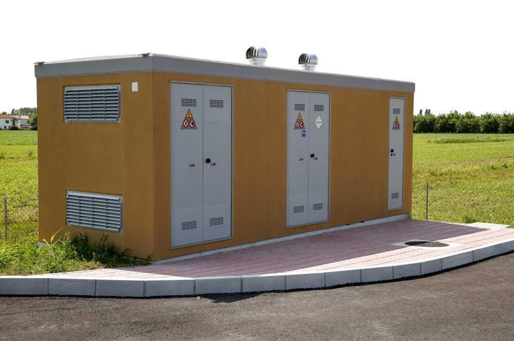 cabine mt bt, cabine elettriche, cabina di trasformazione, cabina
